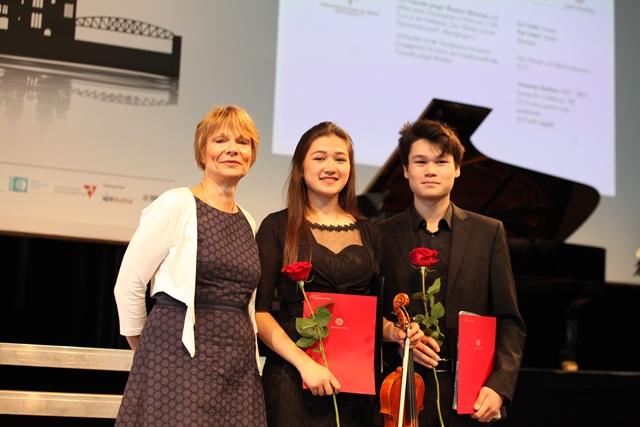 "Juni 2018: Sonderpreis der ""Freunde Junger Musiker"" beim Bundeswettbewerb ""Jugend musiziert"" 2018"