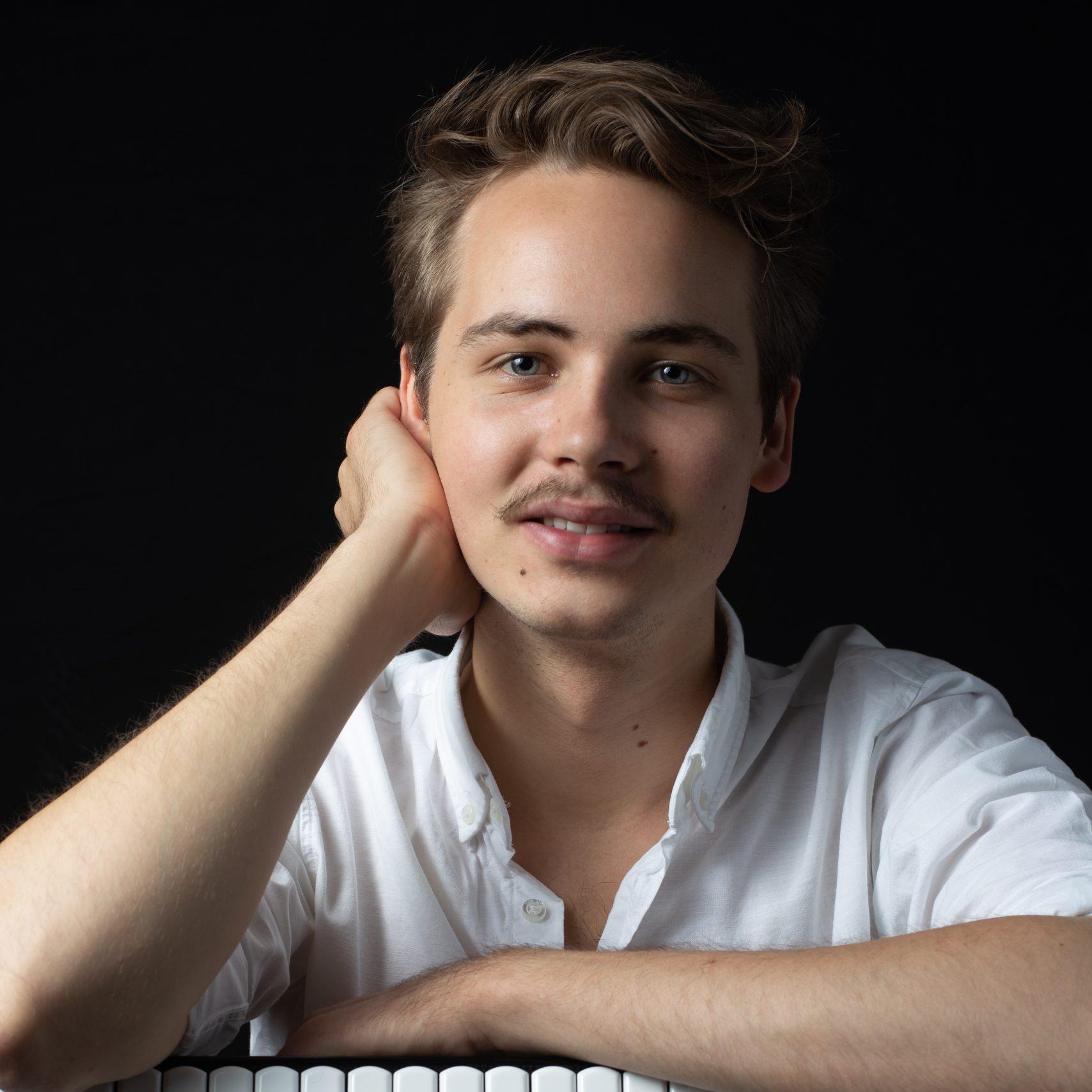 Julius Schepansky: Akkordeonist